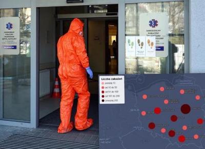 Znamy datę szczytu epidemii w Polsce. Wiemy także, kiedy może się skończyć.