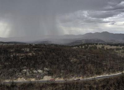 W Australii zaczął padać deszcz. Czy to koniec problemów z pożarami?
