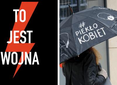 Błyskawica, parasolka, wieszak - co oznaczają symbole strajku kobiet?