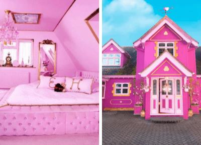 Hotel niczym domek Barbie powstał w Anglii. Możesz w nim nocować!