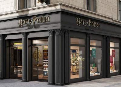 Powstał sklep z rzeczami z uniwersum Harry'ego Pottera! Wygląda niesamowicie!