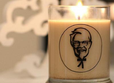 Powstała świeczka KFC o zapachu kurczaka!