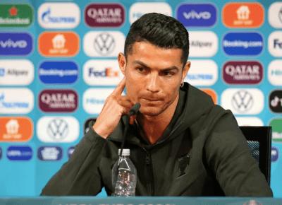 Przez Cristiano Ronaldo Coca-Cola straciła 4 miliardy dolarów!