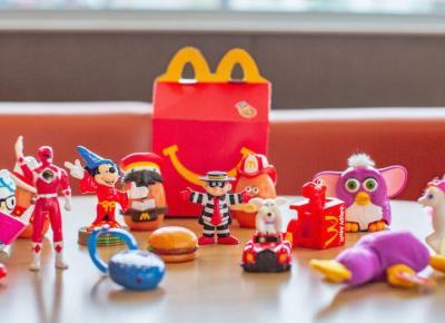 McDonald's rezygnuje z plastikowych zabawek w zestawach Happy Meal!