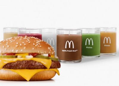 McDonald's wypuścił świeczki o zapachu jednej z kanapek!