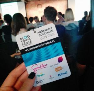 Interaktywna na konferencji Blog Conference Poznań 2016
