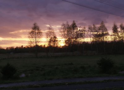 Magia zachodu słońca 😍☝️🌇