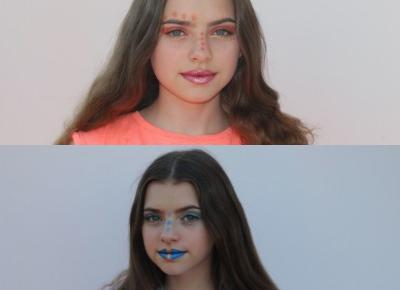 Makijaż inspirowany państwami świata #1        |         Asia Knebel blog