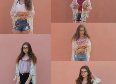 Narzutka w pięciu stylizacjach!                  Asia Knebel blog