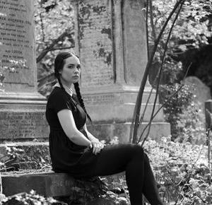 Joanna Ruminska: WEDNESDAY ADDAMS SESJA