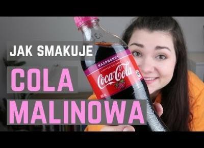 COCA COLA MALINOWA test