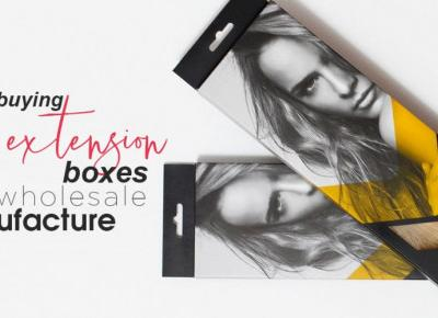 Get Custom Hair Extension Boxes at wholesale
