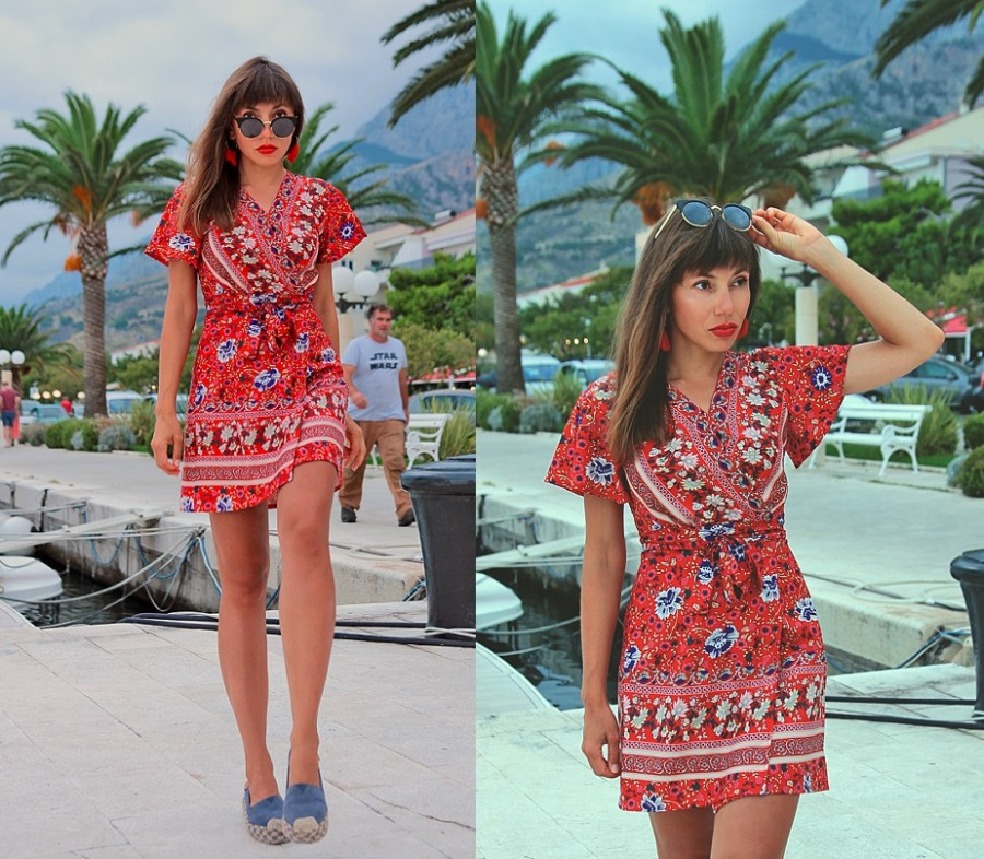 Jointy&Croissanty;: boho red dress