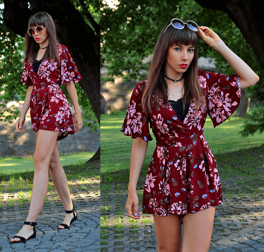 Jointy&Croissanty: floral jumpsuit