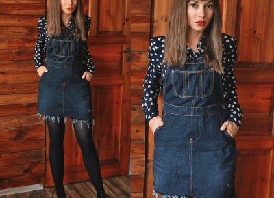 Jointy&Croissanty;: how dungarees became a dress