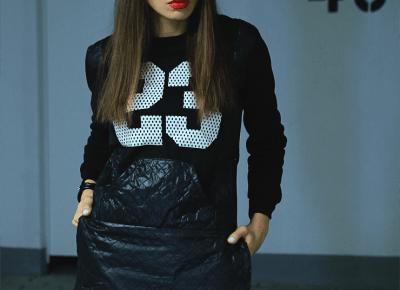 Jointy&Croissanty: sweatshirt dress