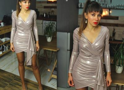 Jointy&Croissanty: pastel metallic dress