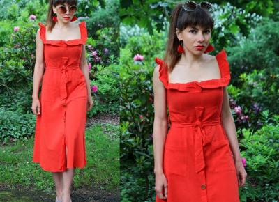Jointy&Croissanty: summer red dress