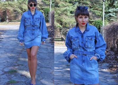 Jointy&Croissanty: denim dress