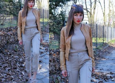 Jointy&Croissanty: beige cargo pants