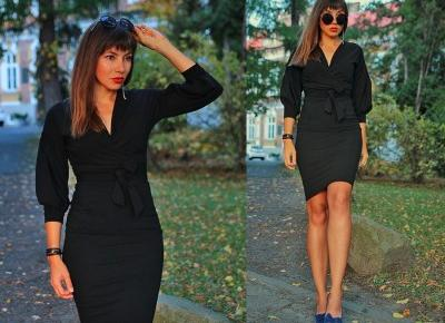 Jointy&Croissanty;: little black dress