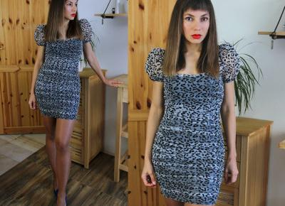 Jointy&Croissanty: leopard print dress