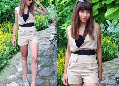 Jointy&Croissanty;: beige playsuit
