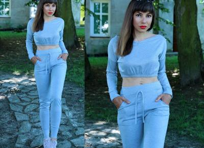 Jointy&Croissanty: grey loungewear