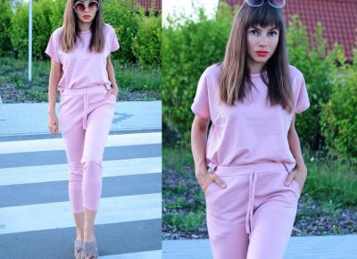 Jointy&Croissanty: candy pink loungewear set