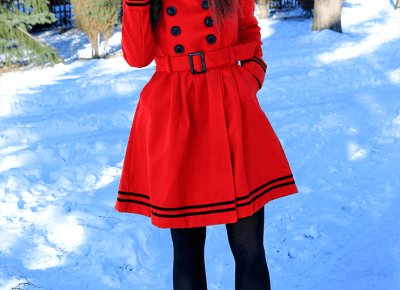 Jointy&Croissanty: another red coat