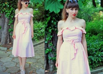 Jointy&Croissanty;: Dear-Lover pastel pink dress