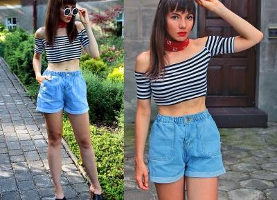 Jointy&Croissanty: perfect denim shorts