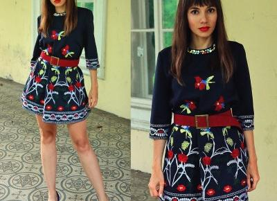 Jointy&Croissanty: embroidered dress