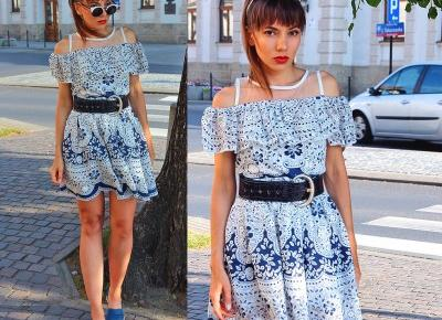 Jointy&Croissanty: lace off the shoulder dress