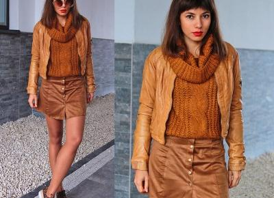 Jointy&Croissanty: caramel total look