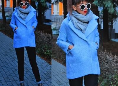 Jointy&Croissanty: baby blue coat
