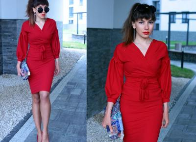 Jointy&Croissanty: red total look