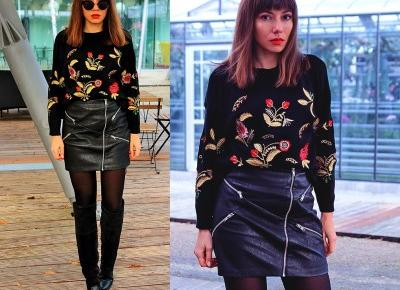 Jointy&Croissanty: embroidered sweater