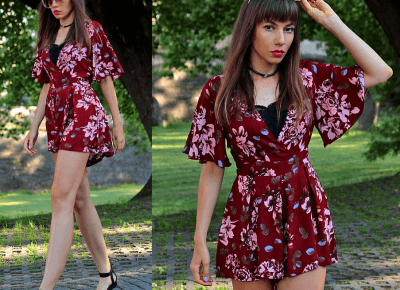 Jointy&Croissanty: floral jumpsuit