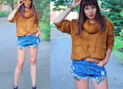 Jointy&Croissanty: caramel cable knit sweater