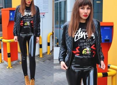 Jointy&Croissanty;: vinyl pants