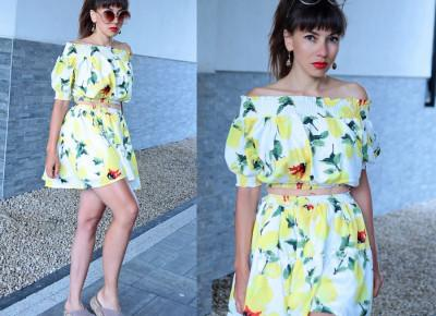 Jointy&Croissanty: lemon two piece set