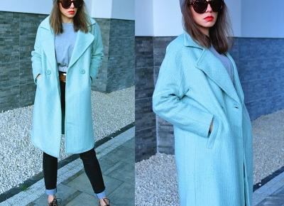 Jointy&Croissanty: wool mint coat