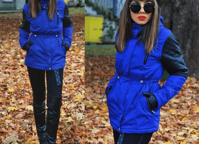 Jointy&Croissanty: blue parka jacket