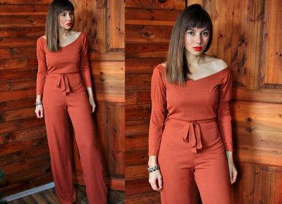 Jointy&Croissanty: Rust jumpsuit