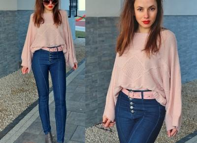 Jointy&Croissanty;:  pastel pink sweater