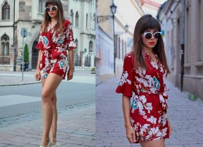 Jointy&Croissanty;: red romper