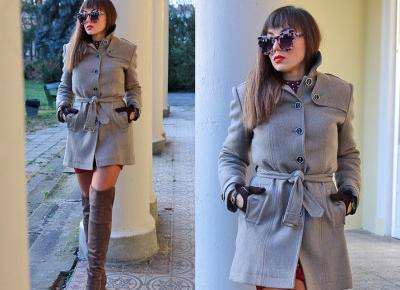 Jointy&Croissanty: taupe wool coat