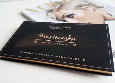Jollyliwcia.blogspot.com: Revolution Beauty Legacy Palette by Maxineczka - moja opinia