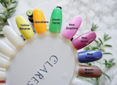 Lakiery hybrydowe Claresa   Nowa, ulepszona formuła + mój manicure - Enestelia - beauty & lifestyle